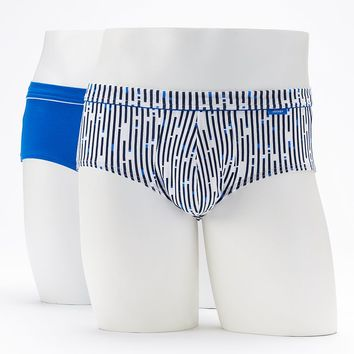 Jockey 2-Pack Cotton Stretch Low-Rise Briefs