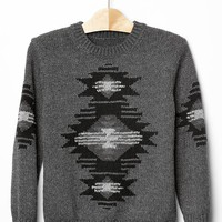 Gap Boys Intarsia Southwestern Sweater