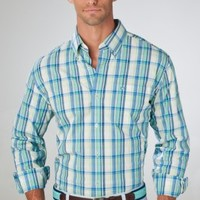 Palm Beach Plaid Sport Shirt