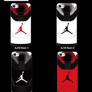 Air Jordan 10 (heel) phone case