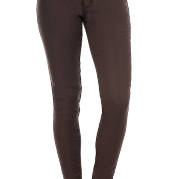 Perfect Fit Coffee Jegging