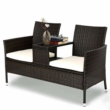 Lutie Rattan Seating Group with Cushion