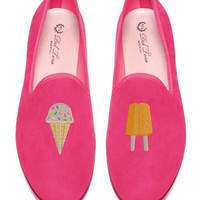 Prince Albert Ice Cream Slipper Loafers by Del Toro - Moda Operandi