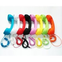 Retro POP Handset for iPhone, iPad, iPod, and Android Phones - Soft Touch (BLUE)