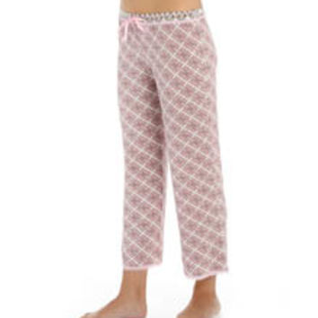 PJ Salvage TPINCP Pink Touch Crop Pant