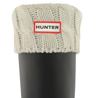 Hunter 6 Stitch Cable Knit Sock - Greige Boot Sock