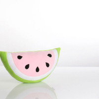 Watermelon Pillow (Cheer) - Kids Pillow - Childrens Pillow