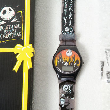 Nightmare Before Christmas Watch distributed by Burger King 1993