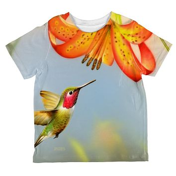 Always Be Yourself Unless Humming Bird All Over Toddler T Shirt