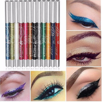 Eyeshadow Eyebrow Lip Eye Eyeliner Pen Pencil Makeup Cosmetic Set HS [8833538252]