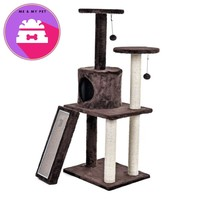 Fast Delivery Luxury Cat Tree House Pet Cat Scratch Board Scratching Toy Ball Sisal Scratch Post Cat Scratching Post KittenTower