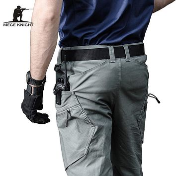Military Army Pants Men's Urban Tactical Clothing Combat Trousers Multi Pockets Unique Casual Pants Ripstop Fabric