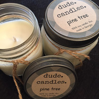 Pine Tree Candle