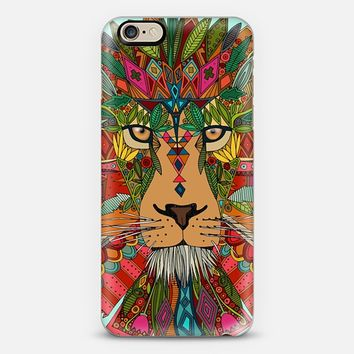 lion mint iPhone 6 case by Sharon Turner | Casetify