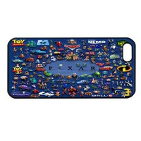 PIXAR ALL CARTOONS iPhone 4 4s Case Cover