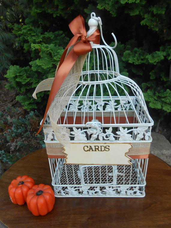 Wedding Birdcage Card