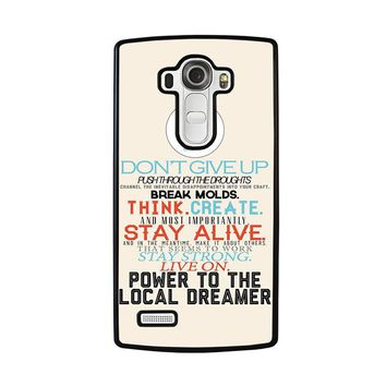 TWENTY ONE PILOTS TITLES LG G4 Case Cover