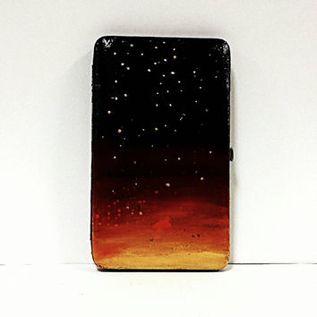 galaxy wallet- fully customizable and hand painted