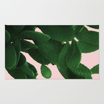 Cactus On Pink Rug by ARTbyJWP