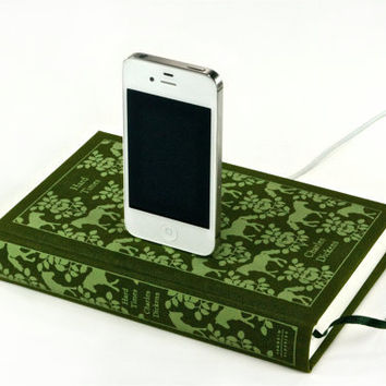 Hard Times Book Charger for iPhone 4S and iPod by CANTERWICK
