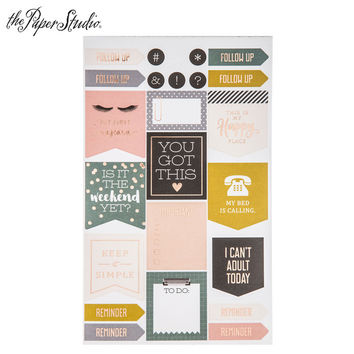 Home Planning Foiled Stickers | Hobby Lobby | 1527217