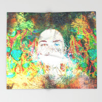 Serenity Throw Blanket by J.Lauren | Society6