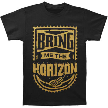 Bring Me The Horizon Men's  Dynamite Shield T-shirt Black Rockabilia