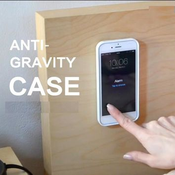 Anti Gravity Luxury Coque For iphone 4 4s 5 5s 6s 6s Plus Phone Case Gravity Funda For Samsung Galaxy s6 s7 Edge Cover Cphina