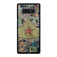 WONDER WOMAN COLLAGE Samsung Galaxy Note 8 Case Cover