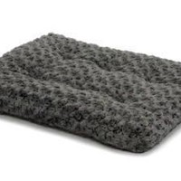 "MidWest Quiet Time Gray Ombre Swirl Dog Bed 46"" x 29"""