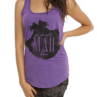 Disney Alice In Wonderland We're All Mad Girls Tank Top