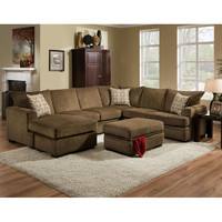 Brady Furniture Industries Main Left Arm Facing Sofa with Chaise