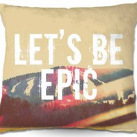 Artistic Couch Pillow | Rachel Burbee | Lets Be Epic | Dianoche Designs