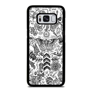 ONE DIRECTION TATTOOS Samsung Galaxy S8 Case