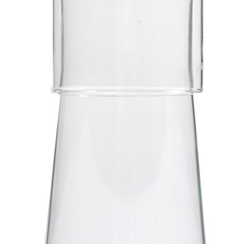 Bedside Carafe with Tumbler in Clear by Canvas