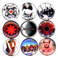 Red Hot Chili Peppers NEW button set of 8 pinbacks 1""