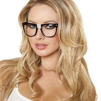 Roma Costume G104 Nerd Glasses