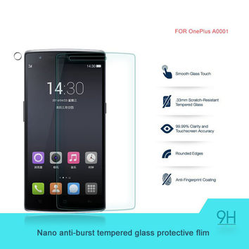 Original Oneplus one Screen Protector Oneplus one Tempered Glass for Oneplus One Plus one1+1 OPO Phone gift carton box send