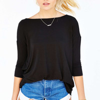 Silence + Noise Bad Attitude Tunic Top - Urban Outfitters