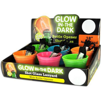 Glow in The Dark Shot Glass