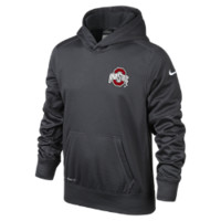 Nike KO Chain Pullover (Ohio State) Boys' Training Hoodie
