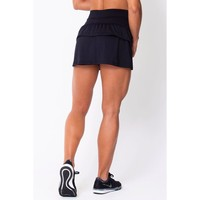 Black Ruffled Skort