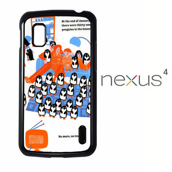 365 penguins book Y1987 LG Nexus 4 Case