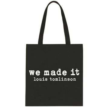 "Louis Tomlinson ""We Made It"" Tote Bag"