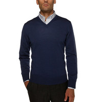 The Blue Barnes V-Neck Sweater