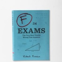 UrbanOutfitters.com > F In Exams By Richard Benson