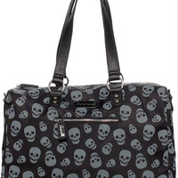 """Lust For Skulls"" Travel Bag by Sourpuss Clothing (Black)"