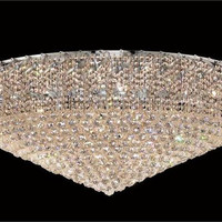 Udell - Flush Mount (36 Light Modern Flush Mount Crystal Chandelier) - 8341F48