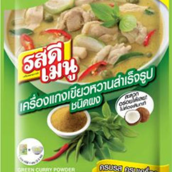 Ros Dee Green Curry Powder 55 g.