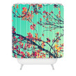 Shannon Clark Summer Bloom Shower Curtain